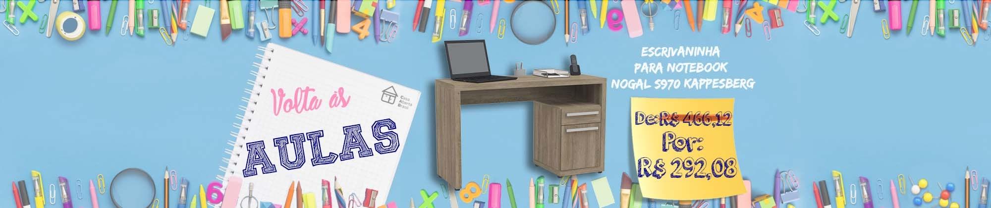 Escrivaninha para Notebook Nogal S970 Kappesberg
