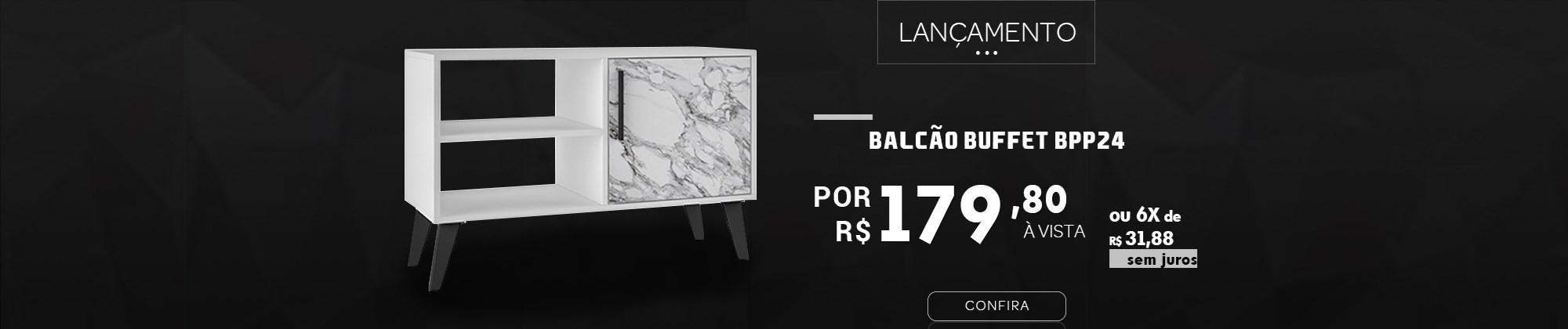 Balcão Buffet BRV Móveis na Casa Aberta Brasil