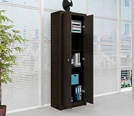 Armário Alto para Escritório ME4105 Tabaco Tecno Mobili