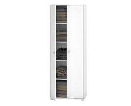 Armário Multiuso com 2 Portas Bam 102 Branco Brv Móveis