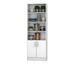 Armário Multiuso Para Cozinha Bmu 103 Branco Brv Móveis