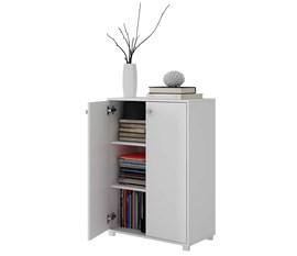 Armário para Escritório Office BAM04 Branco BRV Móveis