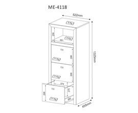 Armário Para Escritório Pasta Suspensa Me4118 Tecno Mobili