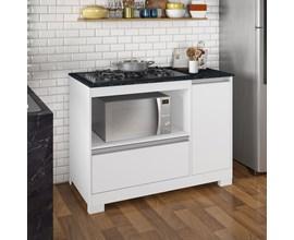 Balção Cooktop Nt 3050  Branco New Notável Móveis