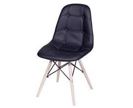 Bancada Para Cozinha Am 3106 com 2 Cadeiras Botonê Preta Casa Aberta Brasil