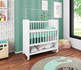 Bedside Sleepers Soninho Branco BE1005 BR Art in Móveis