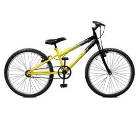 Bicicleta 24 Ciclone Aro 24 Amarelo/Preto Master Bike
