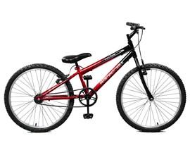 Bicicleta 24 Ciclone Aro 24 Vermelho/Preto Master Bike
