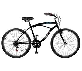 Bicicleta 26 Buzios Plus 21 Marchas Aro 26 Preto Master Bike