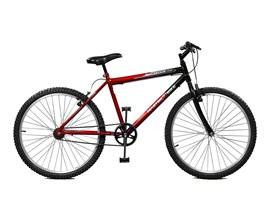 Bicicleta 26 Ciclone Aro 26 Vermelho/Preto Master Bike