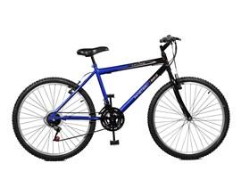 Bicicleta 26 Ciclone Plus 21 Marchas Aro 26 Azul/preto Master Bike
