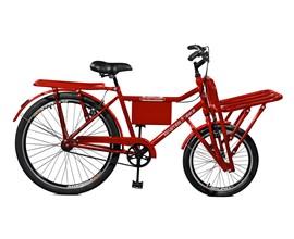 Bicicleta 26 Super Cargo Aro 26 Vermelho Master Bike