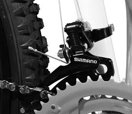 Bicicleta 26 Volcano 21 Marchas  Freio a disco Aro 26 Preto Master Bike