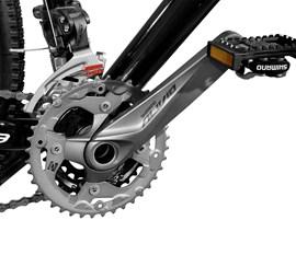 Bicicleta 29 Extreme Pro 27 marchas Freio/Disco hidraulico Aro 29 Preto Master Bike