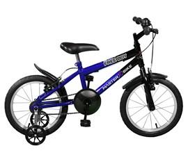 Bicicleta aro 16 Free Boy Aro 16 Azul/Preto Master Bike
