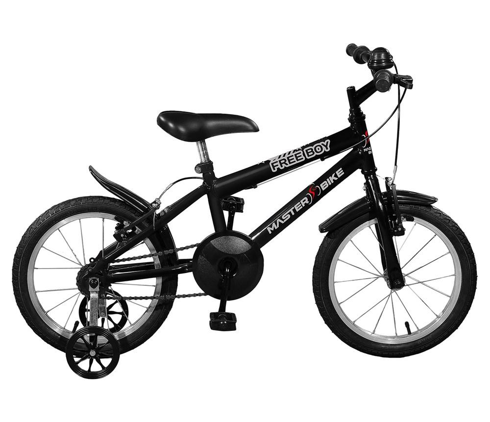 Bicicleta aro 16 Free Boy Aro 16 Preto Master Bike