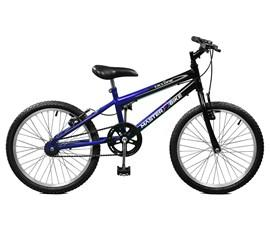 Bicicleta aro 20 Ciclone Aro 20 Azul/Preto Master Bike