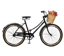Bicicleta aro 26 Bella Retro Aro 26 Preto Master Bike