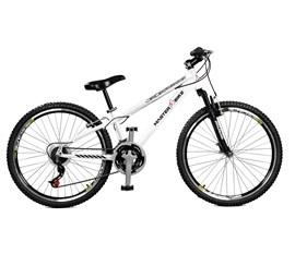 Bicicleta aro 26 Free Rider S A-36 21 M Aro 26 Branco Master Bike