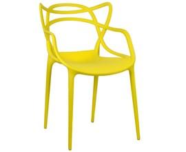 Cadeira Allegra Amarela Casa Aberta Brasil