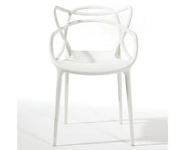 Cadeira Allegra Branca Casa Aberta Brasil