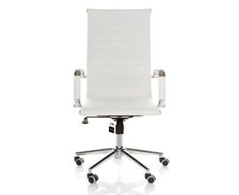 Cadeira Giratória Para Escritório OC-B Branca Casa Aberta Brasil