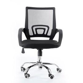 Cadeira Giratória para Escritório Office Preta
