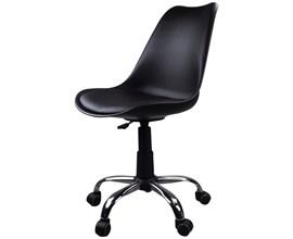 Cadeira Giratória Para Escritório Preta Casa Aberta Brasil