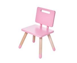 Cadeira Infantil Rosa SC-R Casa Aberta Brasil