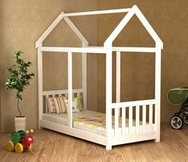 Cama Infantil Montessori 100 Branco Lav. Móveis Saraiva