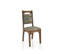 Conjunto 2 Cadeiras de Jantar Assento e Encosto Estofado 100% MDF CA29 Nobre/Ladrilho Dalla Costa