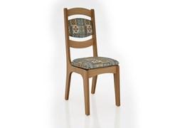 Conjunto 2 Cadeiras de Jantar Encosto Alto Estofada 100% MDF CA27 Freijó/Ladrilho Dalla Costa