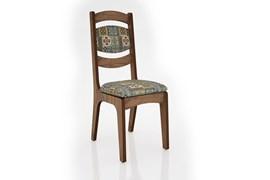 Conjunto 2 Cadeiras de Jantar Encosto Alto Estofada 100% MDF CA27 Nobre/Ladrilho Dalla Costa