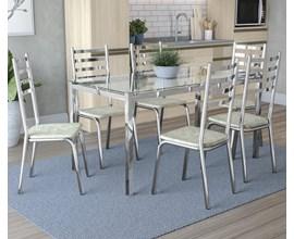 Conjunto de Mesa com 6 Cadeiras Alemanha Vel/Lim  Kappesberg