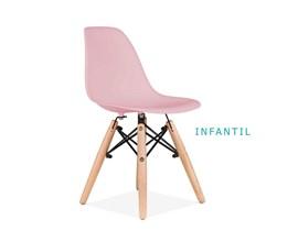 Conjunto de Mesa Infantil com 3 Cadeiras Eiffel Colorida Casa Aberta Brasil