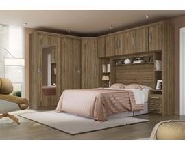 Dormitório Modulado Miami 6 Peças Canyon Móveis Sul