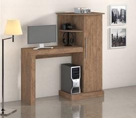 Escrivaninha/Mesa para computador Safira New Castanho Notável Móveis