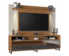 Estante Home Nt 1080 Para Tv Até  55 Polegadas Freijó Trend Notável Móveis