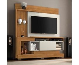 Estante Home Para Tv Até 50 Polegadas Freijó Trend  Notável Móveis