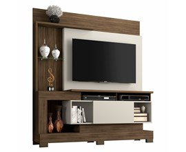 Estante Home Para Tv Até 50 Polegadas Nogal Trend Notável Móveis
