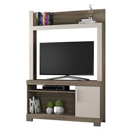 Estante para TV até 43 polegadas com Porta Canela com Areia NT1020 Notável Móveis