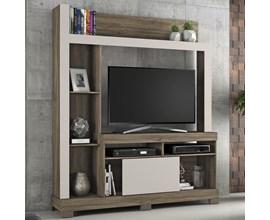 Estante Para Tv Até 43 Polegadas com Porta Deslizante Canela com Areia Nt1025 Notável Móveis