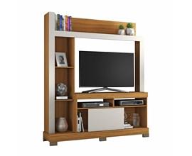 Estante Para Tv Até 43 Polegadas com Porta Deslizante Freijó Trend Nt1025 Notável Móveis