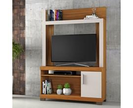 Estante para Tv até 43 Polegadas com Porta Freijó Trend e Off White NT1020 Notável Móveis