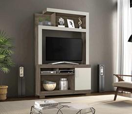 Estante para TV até 43 Polegadas Zara Canela/Areia Notável Móveis