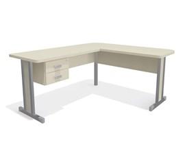 Kit Mesa com gavetas Office Argila 1170 Kappesberg