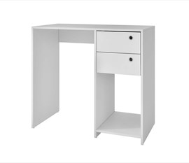 Mesa De Computador BC38 Office Branco BRV Móveis