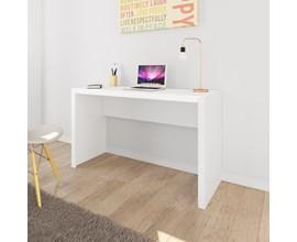 Mesa de Escritório Me4135 Branco Tecno Mobili
