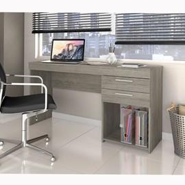Mesa de Escritório Office 2 gavetas Carvalho Notável Móveis