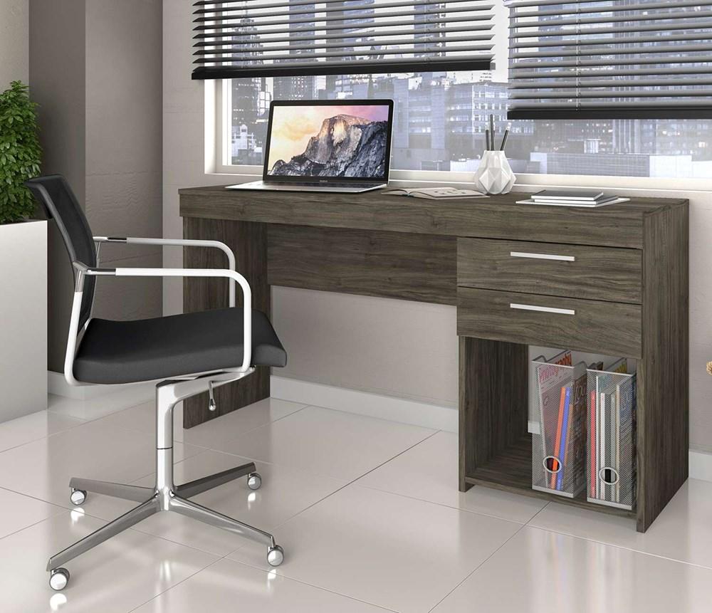 Mesa de Escritório Office Ébano Notável Móveis